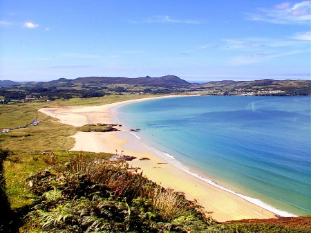Glenalla Lodge B&B Rathmullan, Co. Donegal, Ireland is near excellent beaches including Ballymastoker Bay